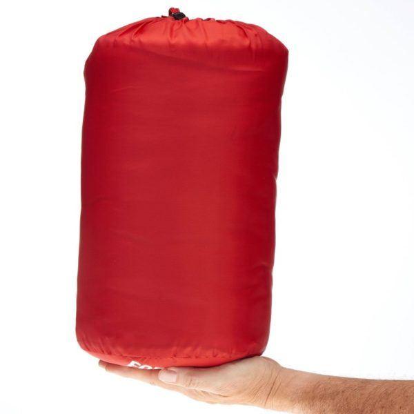 Спальный мешок Quechua Forclaz 10 красный в сумке