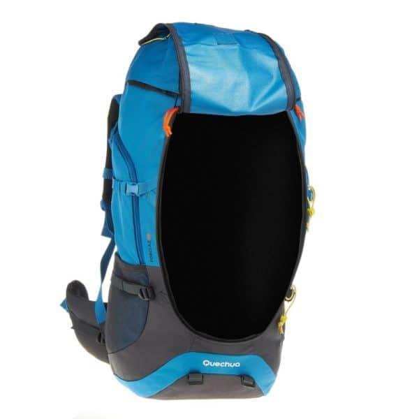 Рюкзак Quechua Forclaz 60 в открытом виде