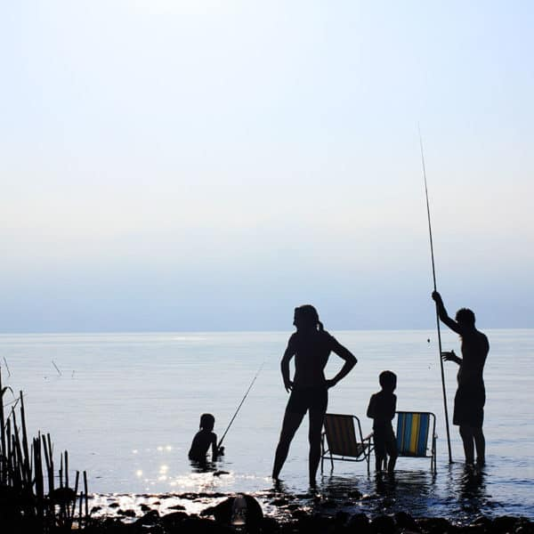 Туристический комплект для семьи из четырех человек