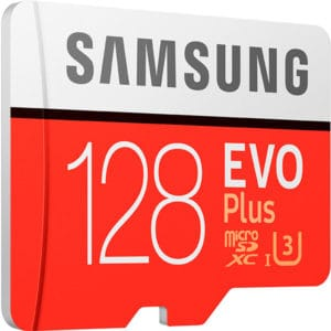 Карта памяти Samsung EVO+ microSDXC 128GB